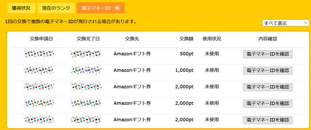 Amazonで大きな買い物をするときに便利です。