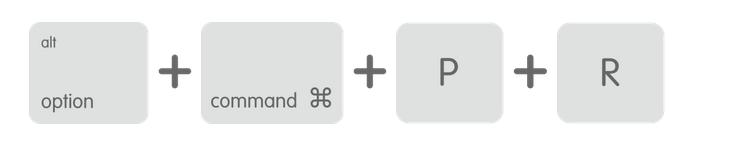 PRAM をリセットする - Apple サポート