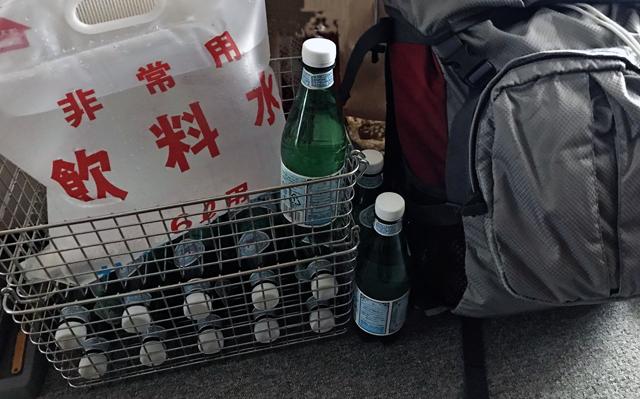 札幌市が以前に水を販売していたときのおまけの給水袋