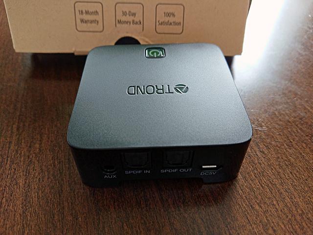 TROND 2-イン-1 Bluetooth V4.1 トランスミッター レシーバー 光デジタル