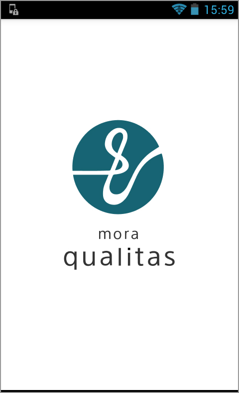 mora qualitasを立ち上げたところ