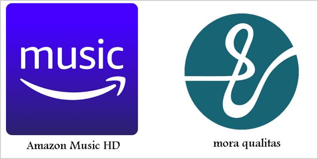高音質サブスク「Amazon Music HD」と「mora qualitas」